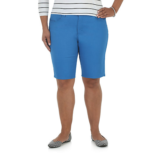 Riders by Lee Comfort Waist Bermuda - Plus