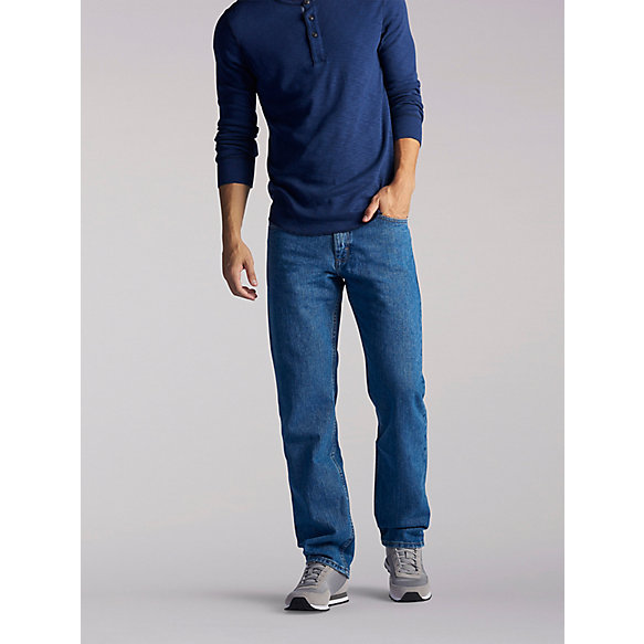 Regular Fit Straight Leg Jean