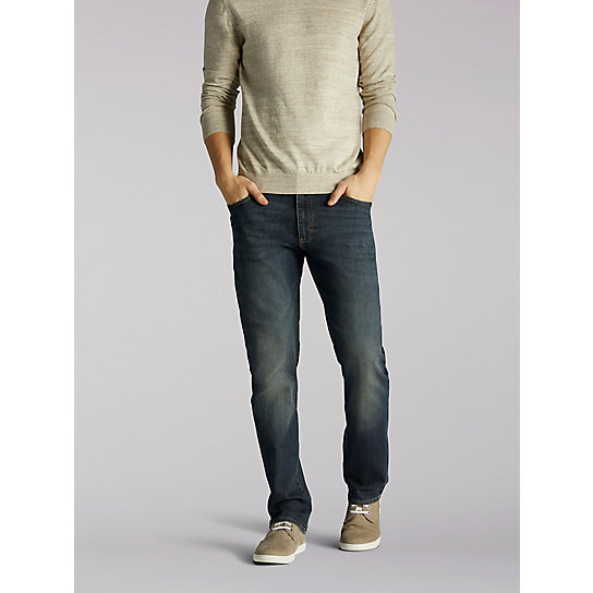 Extreme Motion Straight Fit Tapered Leg Jeans
