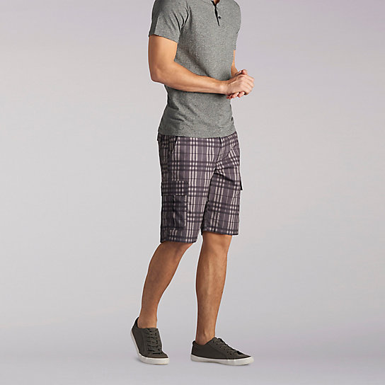 Lee Performance Cargo Plaid Short
