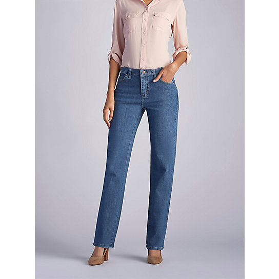 Original Relaxed Fit Straight Leg Jeans - Petite