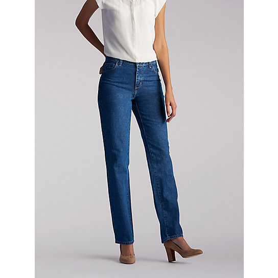 100% Cotton Relaxed Fit Straight Leg Jean | Lee
