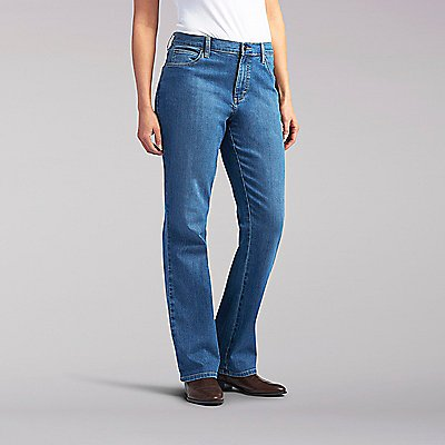 Relaxed Fit Bootcut Jean