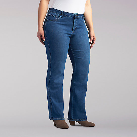 Easy Fit Emma Barely Bootcut - Plus