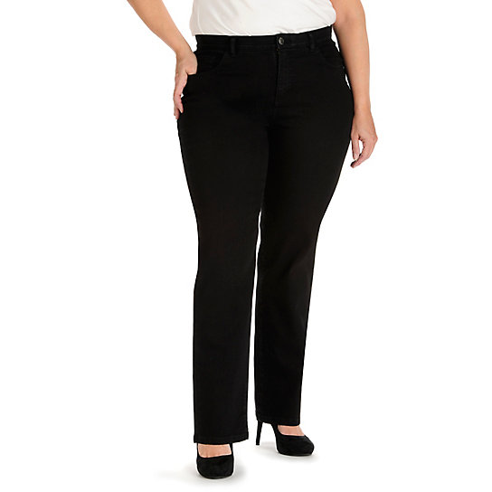 Comfort Waist Brielle Straight Leg - Plus