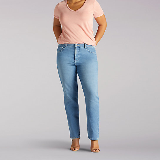 Classic Fit Sophie Straight Leg Jean - Plus