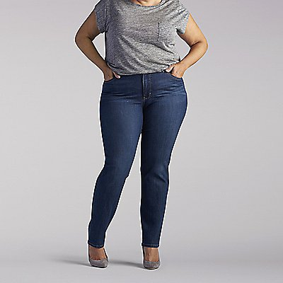 Modern Series Giselle Straight Leg Jeans - Plus