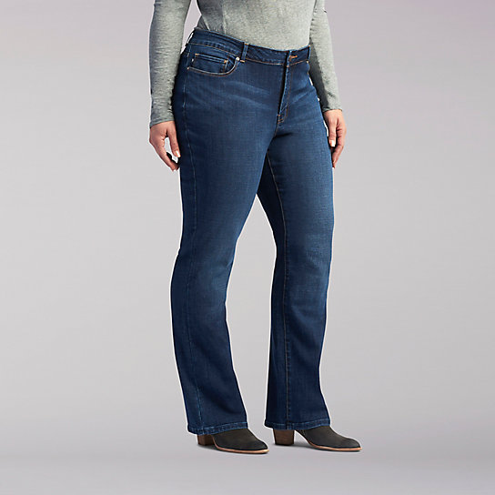 Modern Series Lexi Straight Leg Jeans - Plus