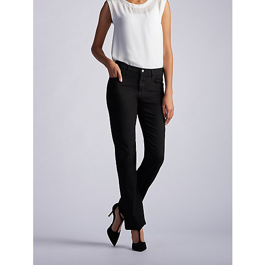 New Relaxed Fit Straight Leg Stretch Jean - Tall