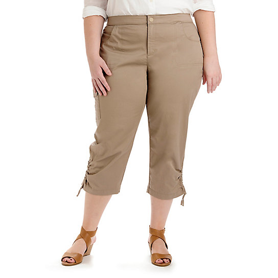 Comfort Fit Kristi Capri - Plus