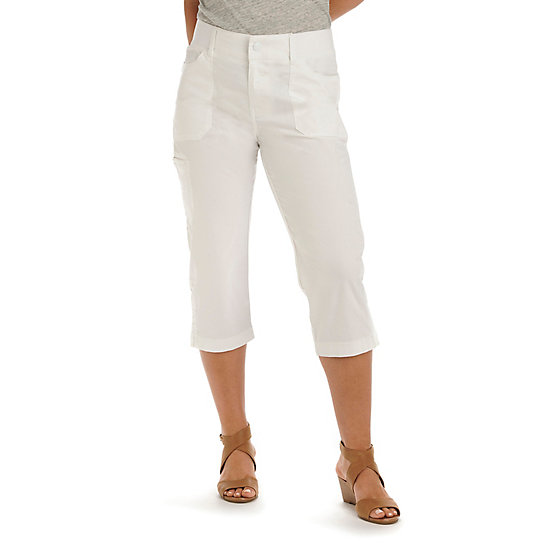 Relaxed Fit Emilia Cargo Capri