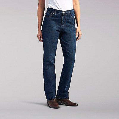 Classic Fit Teegan Straight Leg Jeans - Petite