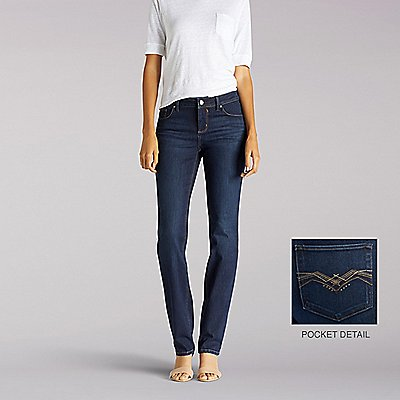 Perfect Fit Aurora Straight Leg Jeans