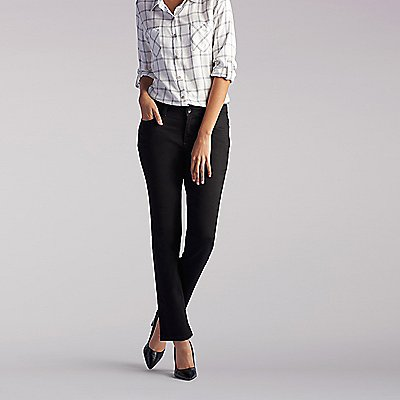 Perfect Fit Augusta Straight Leg Jeans