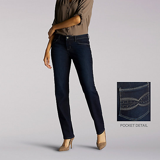Perfect Fit Hartford Straight Leg Jeans