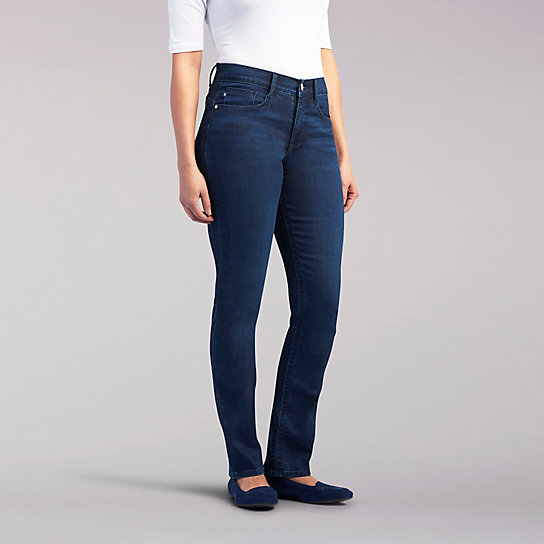 Easy Fit Ivory Straight Slim Jeans