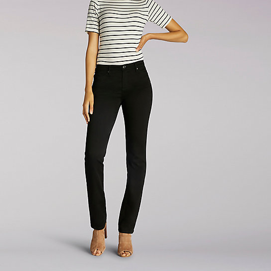 Slimming Fit Rebound Slim Straight Leg Jeans - Tall