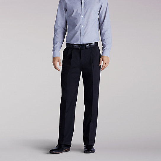 Custom Fit Pleated Pants