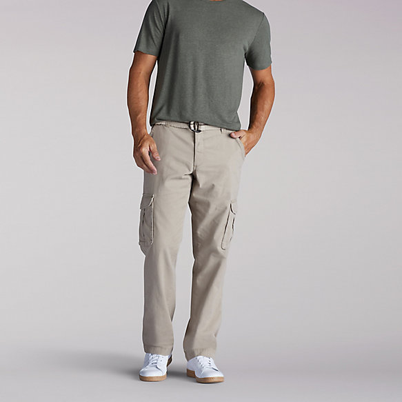 Relaxed Fit Belted Kerr Cargo Pants
