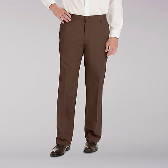 Total Freedom Straight Fit Flat Front Pants