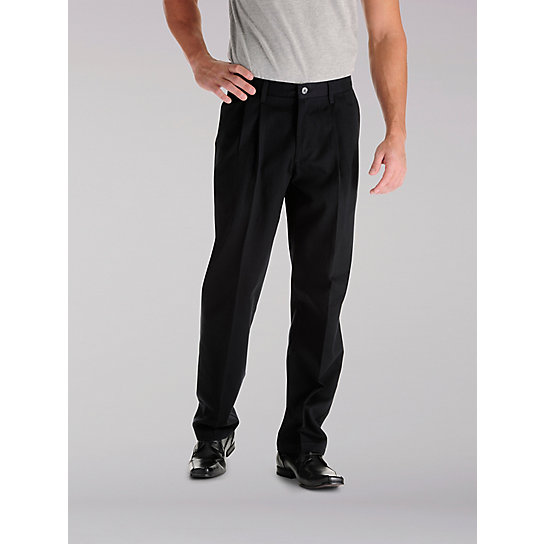 Stain Resist Pleated Pants - Big & Tall