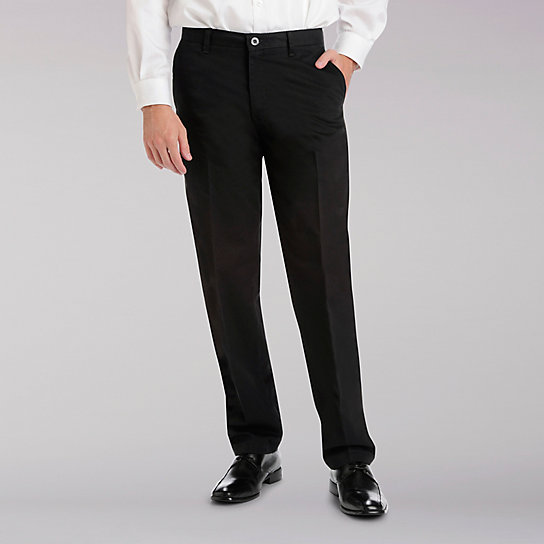 Total Freedom Flat Front Pants - Big & Tall