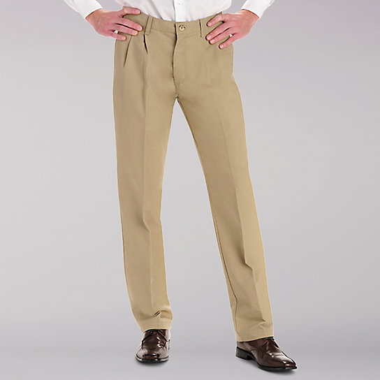 Total Freedom Classic Fit Pleated Pants - Big & Tall