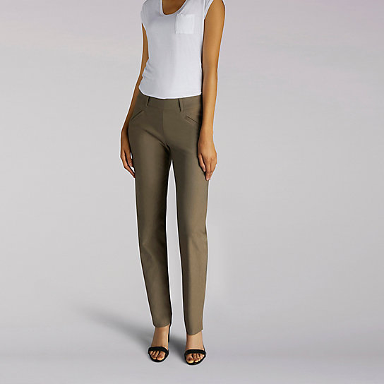 Straight Fit Ivy Slim Straight Leg Pant - Modern Series