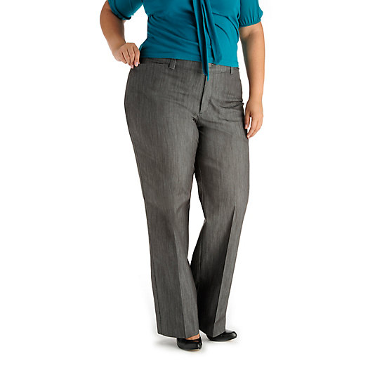 Platinum Label - No-Gap Monaco Waistband Trouser - Plus