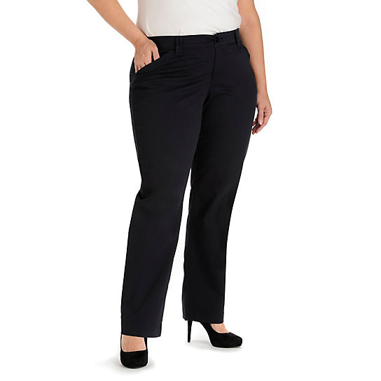 Comfort Fit Kassidy Straight Leg Pant - Plus