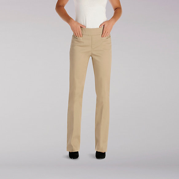 Natural Fit Pull On Piercen Barely Boot Pant