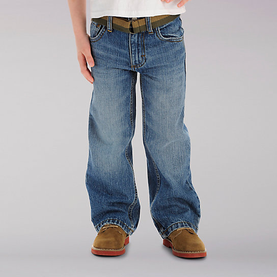 Dungarees Relax Bootcut Boys Jeans - 4-7x