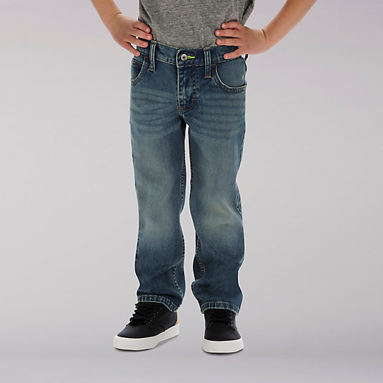 Lee Sport X-treme Comfort Straight Fit Jeans - 4-7x