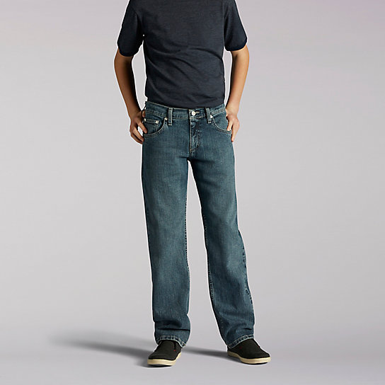 Premium Select Straight Fit Boys Jeans - Husky