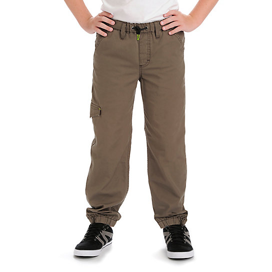 Lee-Relaxed Cargo Ripstop Boys Pants - 8-18