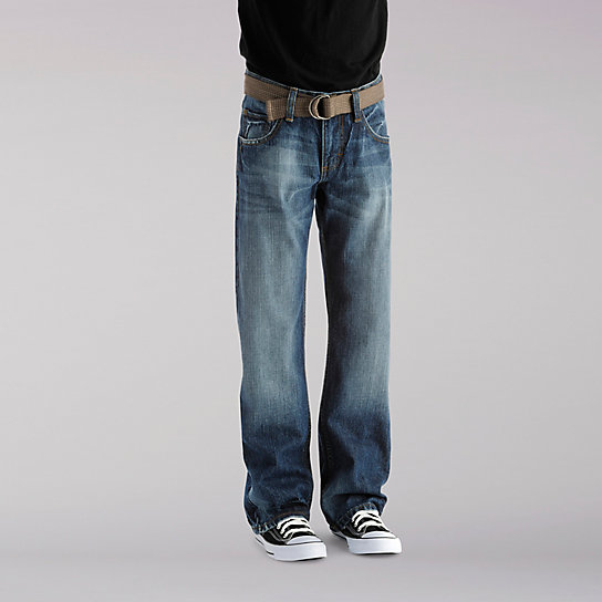 Dungarees Relaxed Fit Bootcut Boys Jeans - 8-18