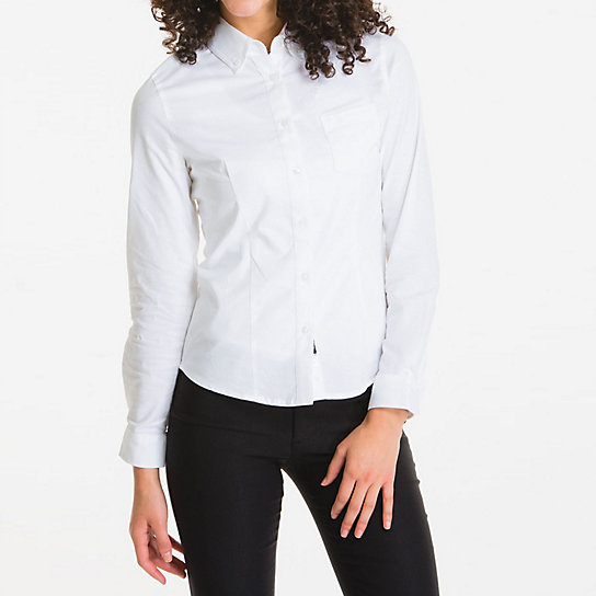Shapely Long Sleeve Oxford - Uniforms