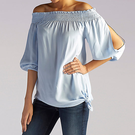 Asymmetrical Solid Top