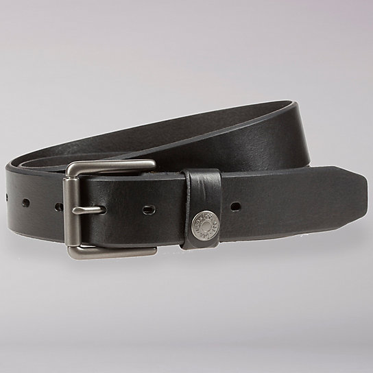 Lee Logo Rivet Leather Belt - Men