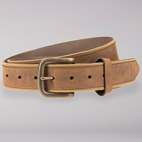 Canvas with Nubuck Overlay Belt - Men