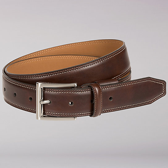 Active Comfort Leather Belt  - Big & Tall