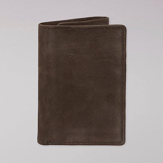 Trifold Nubuck Leather Wallet - Unisex