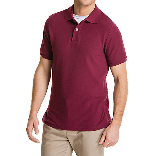 Short Sleeve Basic Polo