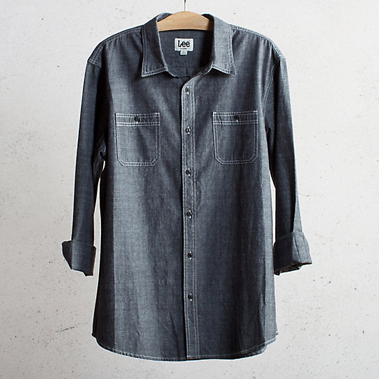 2 Pocket Chambray Shirt