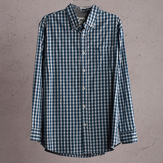 1 Pocket Check Shirt
