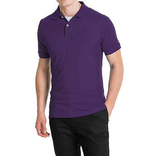 Shapely Short Sleeve Pique Polo - Uniforms