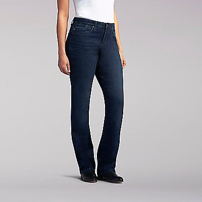 Platinum Label Comfort Fit  Lydia Barely Bootcut Jeans