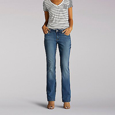 Platinum Label Curvy Fit Avery Bootcut Jeans