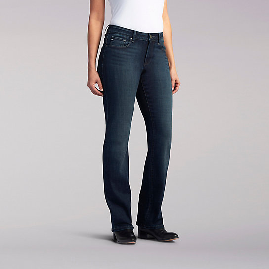 Platinum Label Curvy Fit Mia Bootcut Jeans