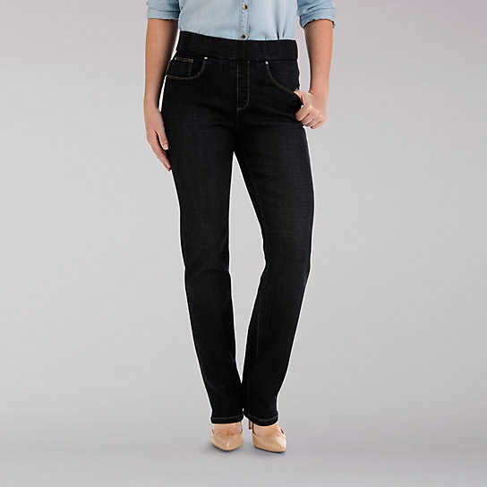 Natural Fit Pull-on Evelyn Straight Leg